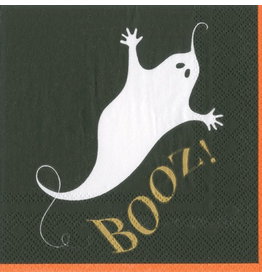 Caspari Halloween Cocktail Napkins 20pk Booz