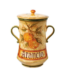 Botanica Oranges Canister BTA-3268 IN STORE PICK UP ONLY