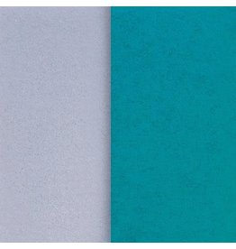 PAPYRUS® Tissue Paper 8 Sheets - Teal Grey Duo