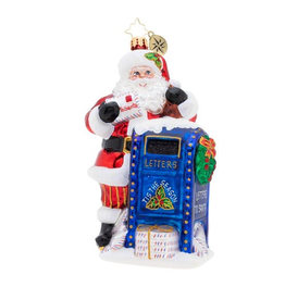 Christopher Radko Dear Santa Christmas Ornament