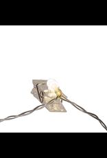 Kurt Adler 10 Lighted Photo Clips Battery Operated Light Set LED Warm White