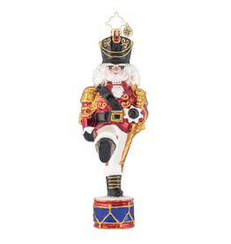 Christopher Radko Parading Nutcracker Christmas Ornament