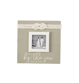 Mud Pie By The Sea You and Me Photo Picture Frame w Knot