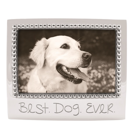 Mariposa Engraved 4x6 Photo Picture Frame w Best Dog Ever