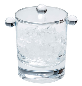 Caspari Lucite Acrylic Ice Bucket 60oz Clear