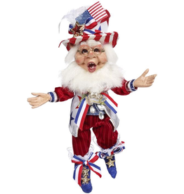 Mark Roberts Fairies Patriotic Elves Patriotic Elf SM 11 inch