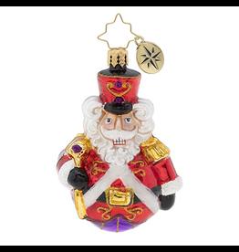 Christopher Radko Man or Mouse Nutcracker Gem Christmas Ornament