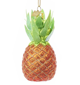 Kurt Adler Noble Gems Glass Pineapple Ornament - Multi