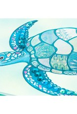 PAPYRUS® Blank Card Mosaic Sea Turtle With Gems