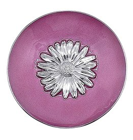 Mariposa Pink Daisy Relief Bowl