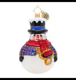 Christopher Radko Jolly All Around Christmas Ornament
