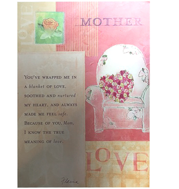 Mothers Day Card Love - Flavia
