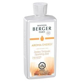 Lampe Berger Oil Liquid Fragrance 500ml Aroma Energy Maison Berger