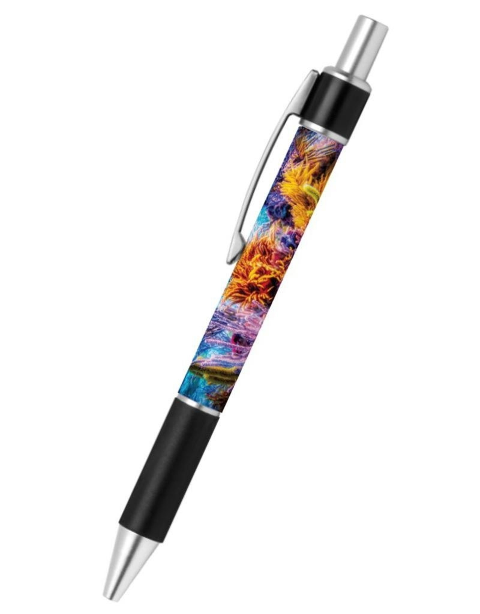By The Seas-N Greetings Ballpoint Pen With Ocean Reef Design