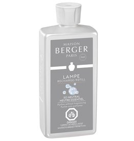 Lampe Berger Oil Liquid Fragrance Liter So Neutral Air Pur Maison Berger