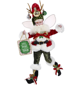 Mark Roberts Fairies Christmas Grinchy Fairy MD 20 inch Dont Get Your Tinsel In A Tangle 51-97200