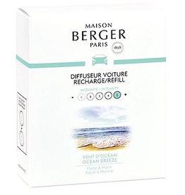 Maison Berger Car Diffuser Refill 2pk Scent Ocean Breeze