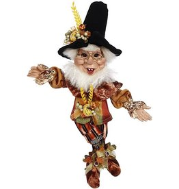 Mark Roberts Fairies Elves Fall Thanksgiving Give Thanks Pilgrim Elf SM 10 Inch 51-96886