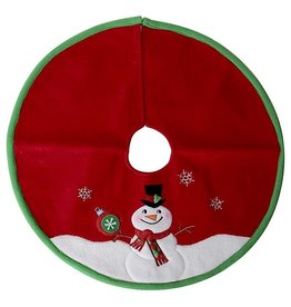 Darice Mini Christmas Tree Skirts 18 Inch Snowman