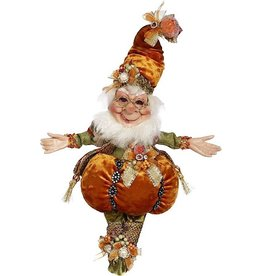 Mark Roberts Fairies Elves Fall Halloween Treat Pumpkin Elf SM 10 Inch 51-96882