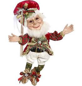 Mark Roberts Fairies Elves Christmas Decorating Elf MD 17 inch 51-96896