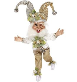 Mark Roberts Fairies Elves Christmas Silver Bells Elf SM 10 inch 51-96938