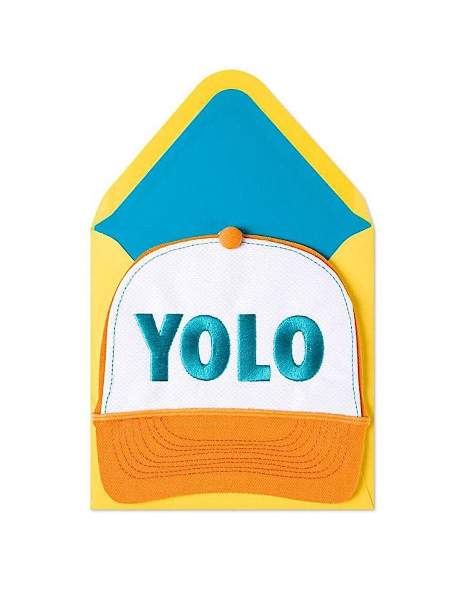 PAPYRUS® Birthday Card Yolo Trucker Hat