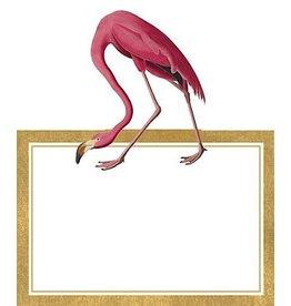 Caspari Table Place Cards Die Cut 8pk Audubon Birds