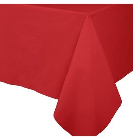 Caspari Paper Linen Solid Table Covers In Red