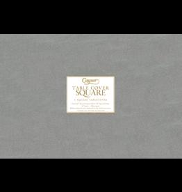 Caspari Square Tablecover In Silver 72x72 inch