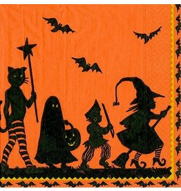 Caspari Halloween Party Paper Cocktail Napkins 20pk Halloween Parade