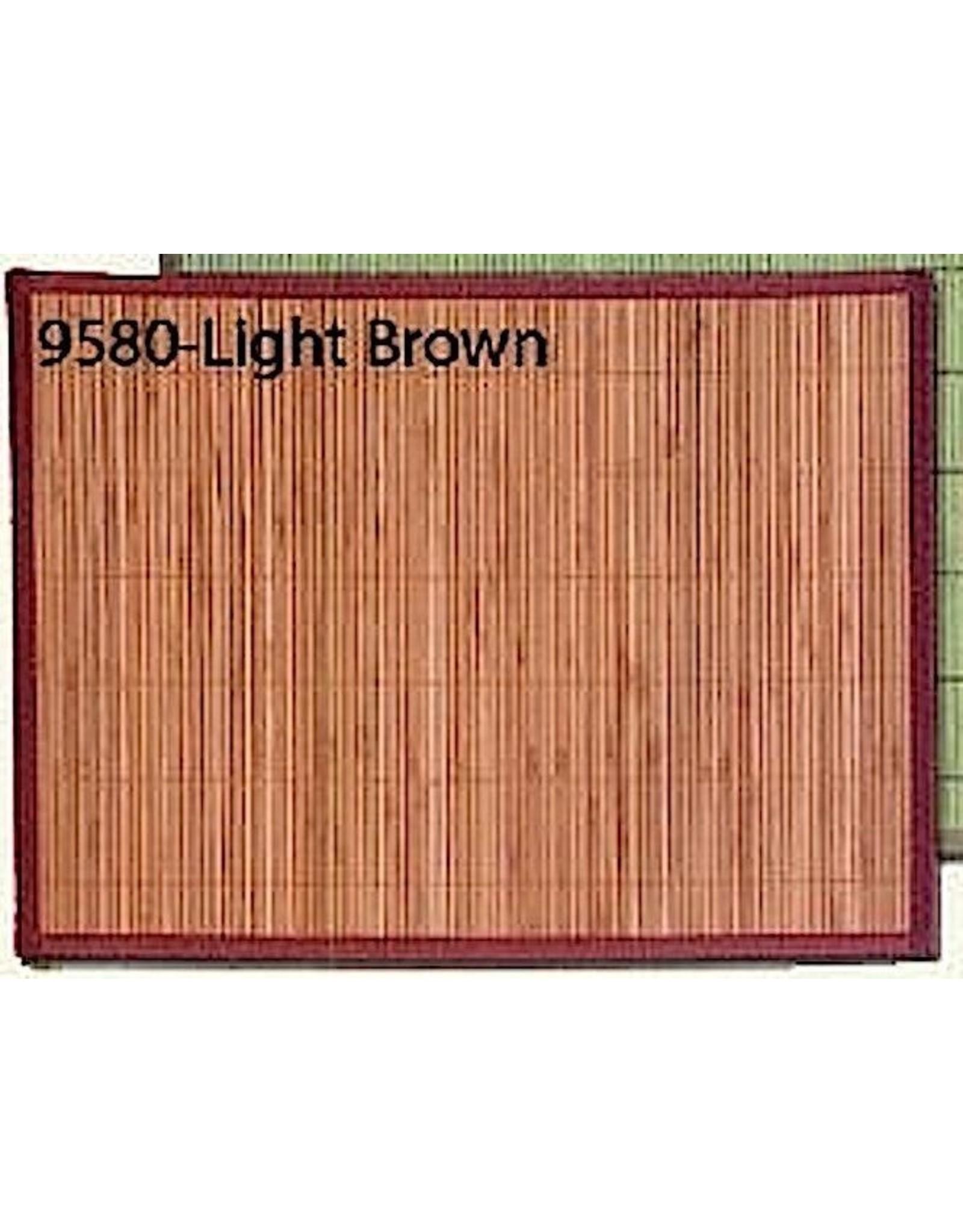 Bamboo Rectangular Placemat Lt Brown