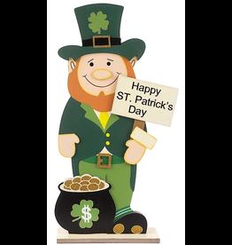 Darice Irish St Patricks Day Greeter Leprechaun Standing 24 Inch