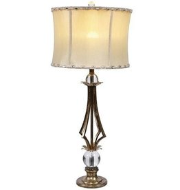 Mark Roberts Home Decor Contemporary Lighting Empire Lamp 34.5in