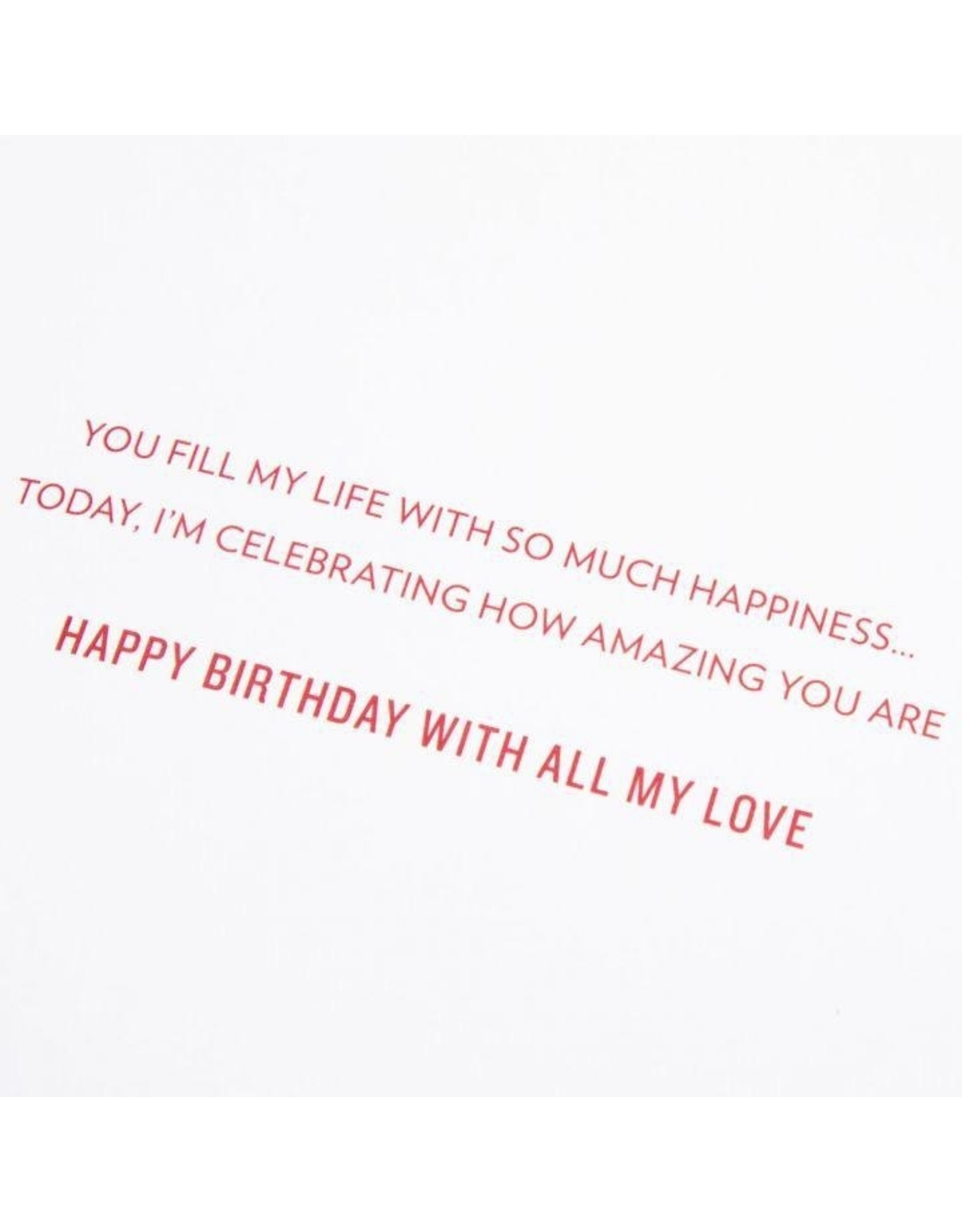 PAPYRUS® Birthday Card For Husband I Give My Heart