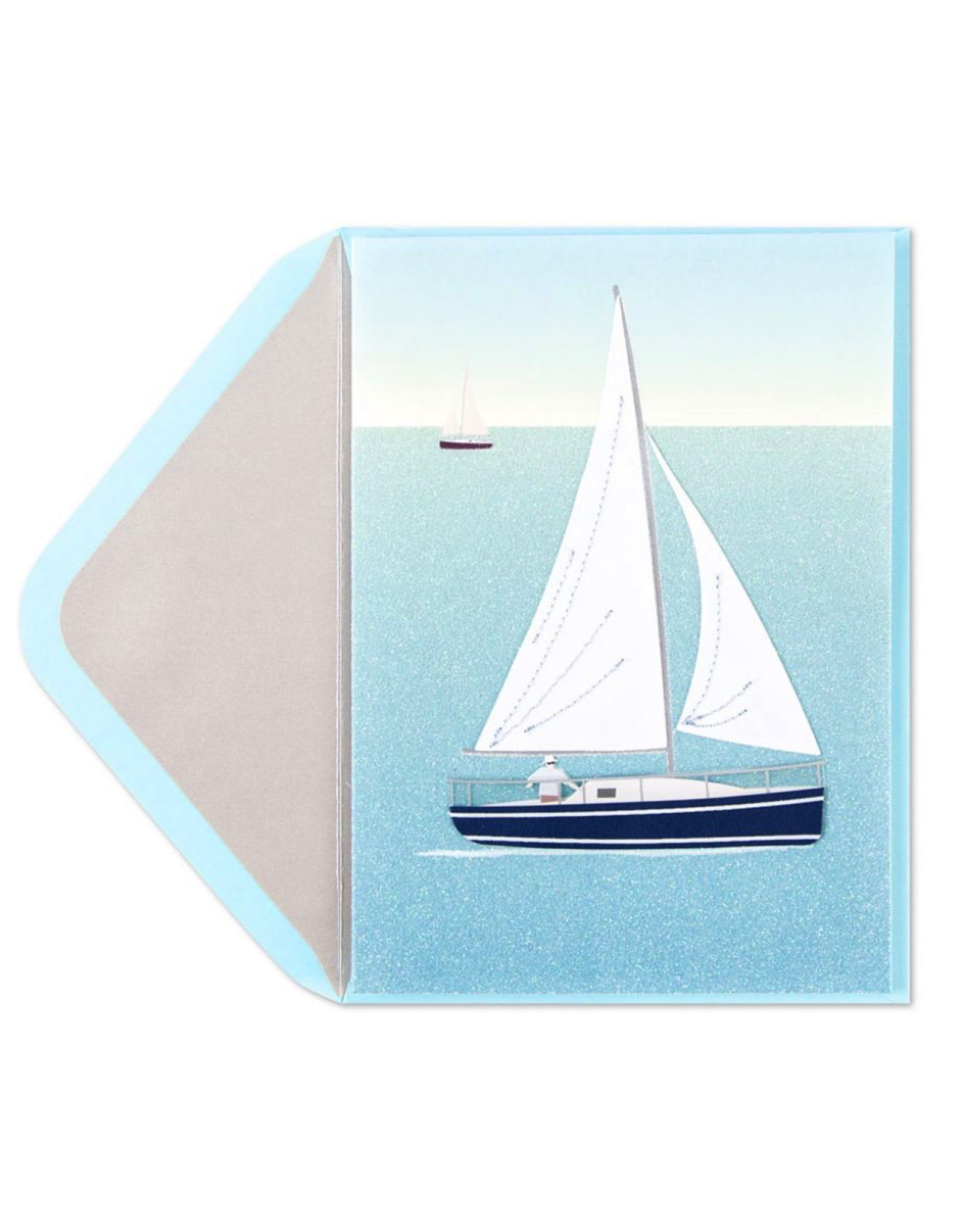 PAPYRUS® Birthday Card Handmade Sailboat
