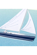 PAPYRUS® Birthday Card Handmade Sailboat