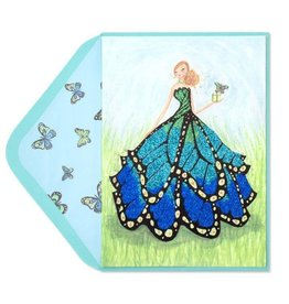 PAPYRUS® Birthday Card Butterfly Girl Bella Pilar