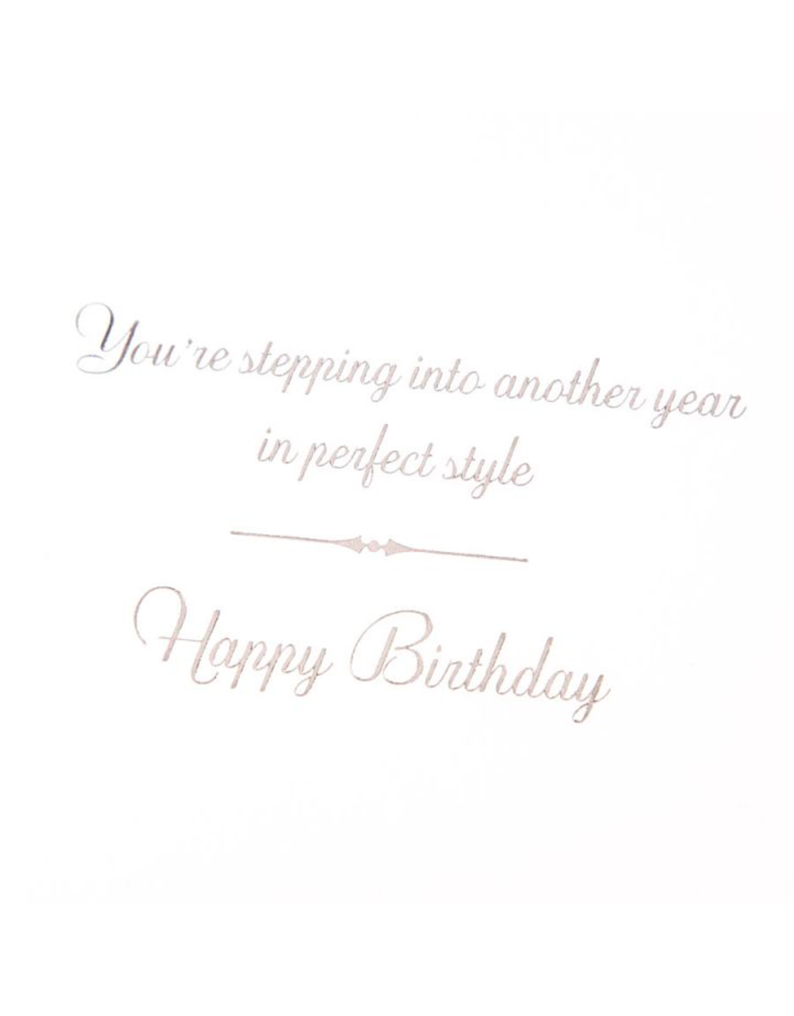 PAPYRUS® Birthday Card Painterly Pearl Shoe