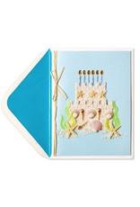 PAPYRUS® Birthday Card Sandcastle Cake