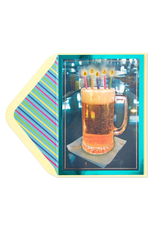 PAPYRUS® Birthday Card Beer With Candles