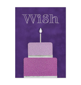 PAPYRUS® Birthday Card Luxe Cake Wish