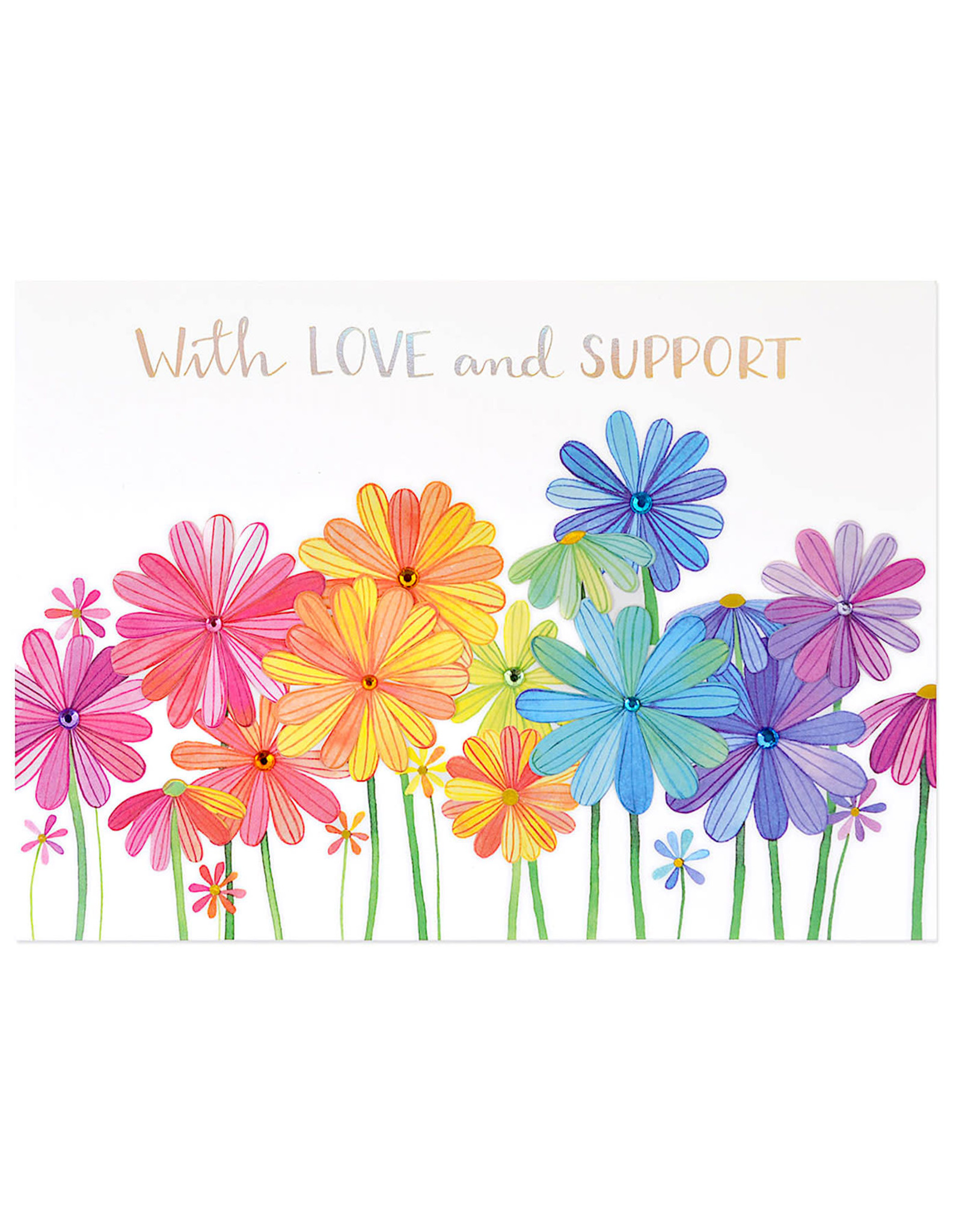 PAPYRUS® Get Well Card Growing Flowers With Love And Support