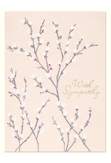 PAPYRUS® Sympathy Card Pussy Willow
