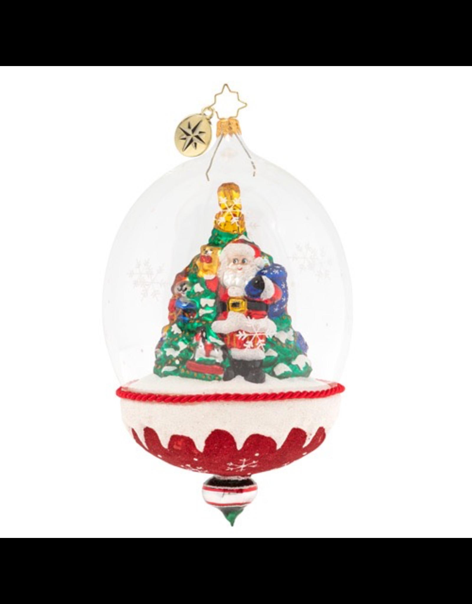 Christopher Radko Snowdome of Toys Christmas Ornament