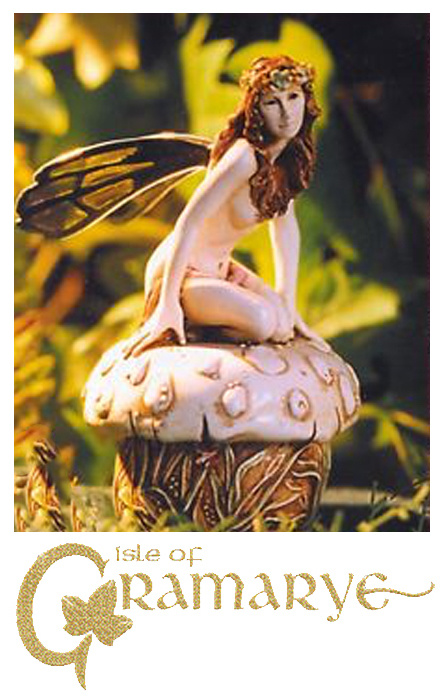 Isle of Gramarye Fairy Figurines Made in England by Robert Glover