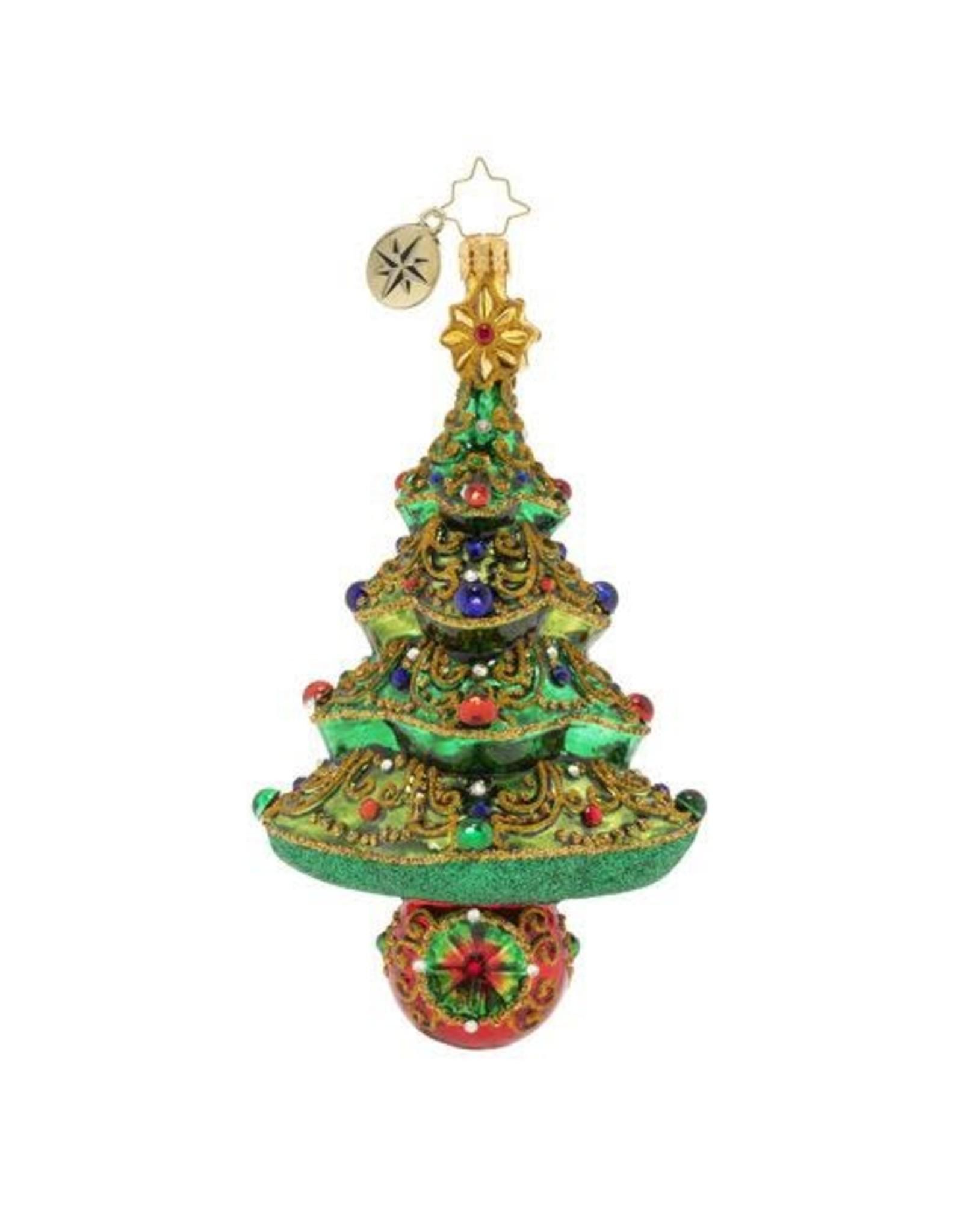 Christopher Radko A Tree To Dazzle Christmas Ornament