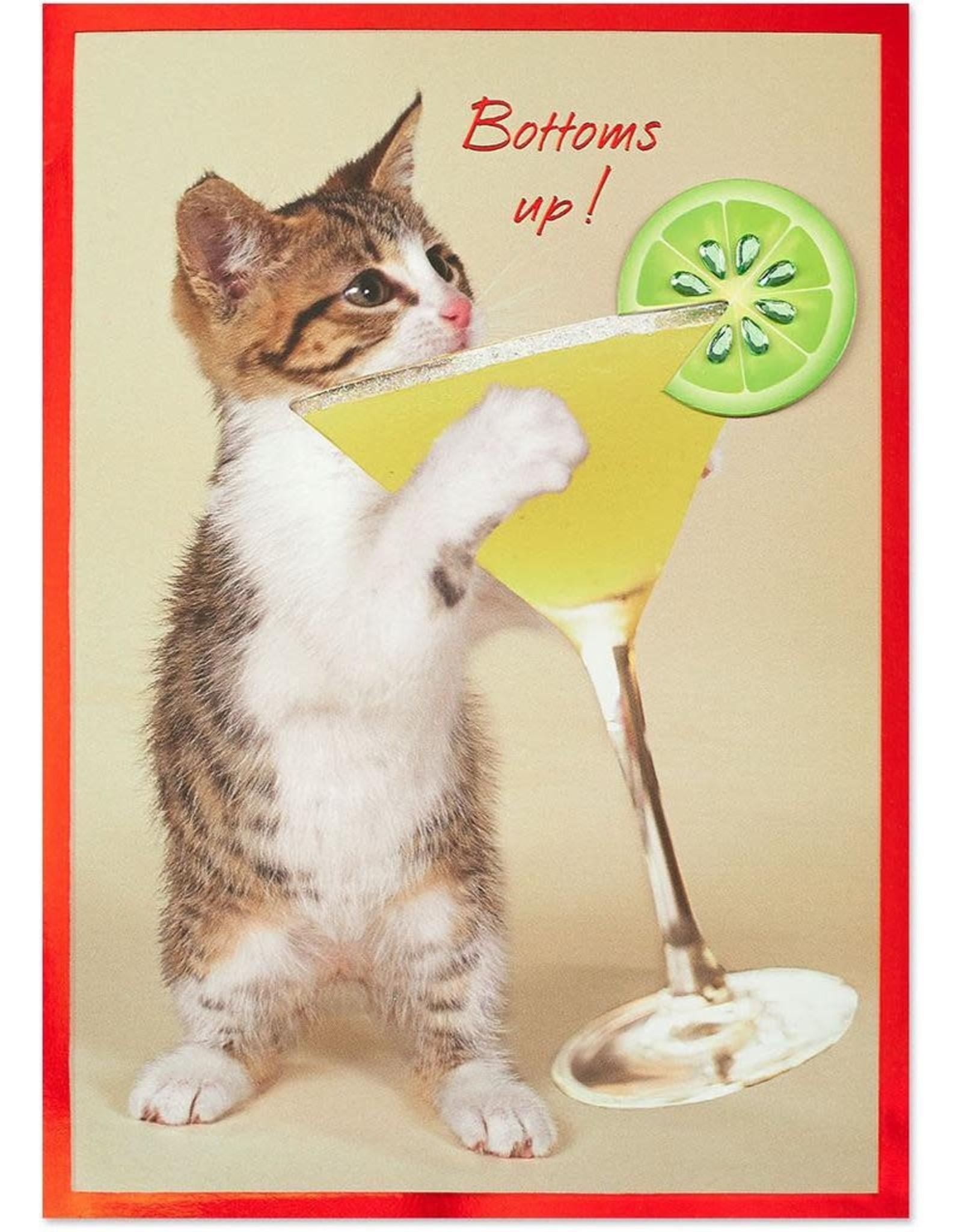 PAPYRUS® Birthday Cards Kitty With Margarita