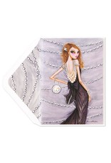 PAPYRUS® Birthday Card Pearl Fashion Dress Bella Pilar