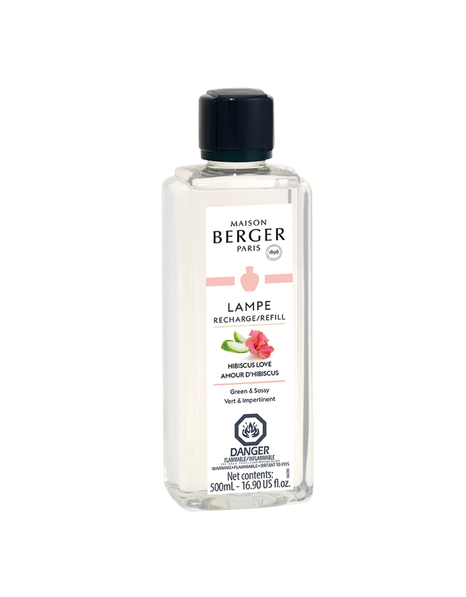 Lampe Berger Oil Liquid Fragrance 500ml Hibiscus Love Maison Berger